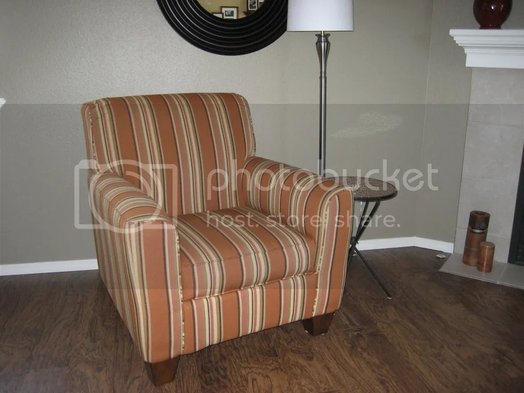 orange bucket chair ergonomic kneeling posture striped reading photo by f27dog photobucket