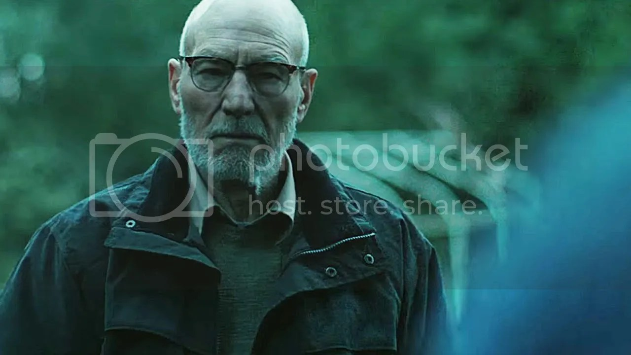 Patrick Stewart in Green Room