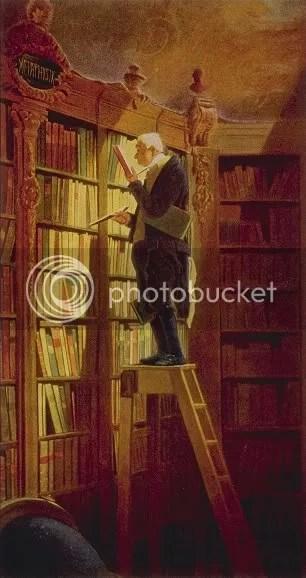 Der Bücherwurm (The Bookworm) by Carl Spitzweg