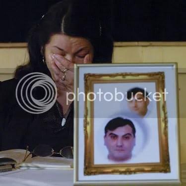 Zofia Cisowski mourns