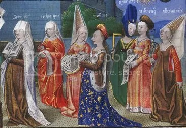 Philosophy Presenting the Seven Liberal Arts to Boethius (detail)