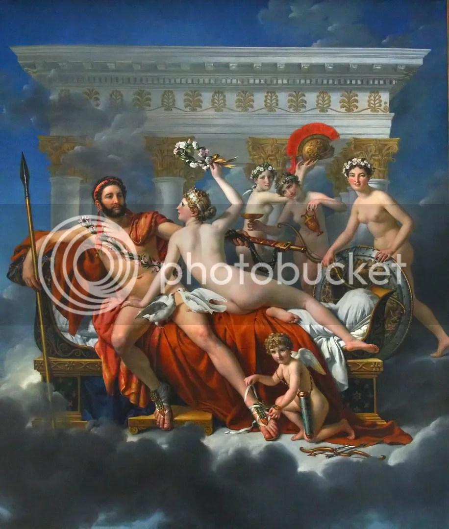 David: Mars being disarmed by Venus