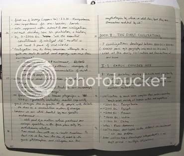 Scribble scribble scribble...