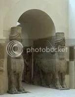 Neo-Assyrian lamassus, Louvre