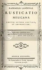 Rafael Landívar: Rusticatio Mexicana