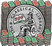 Loeb Classical Library - 500 volumes and counting