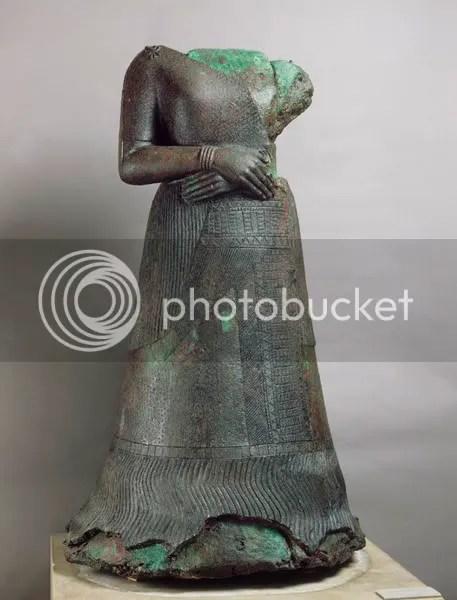 Queen Napir-Asu, Louvre