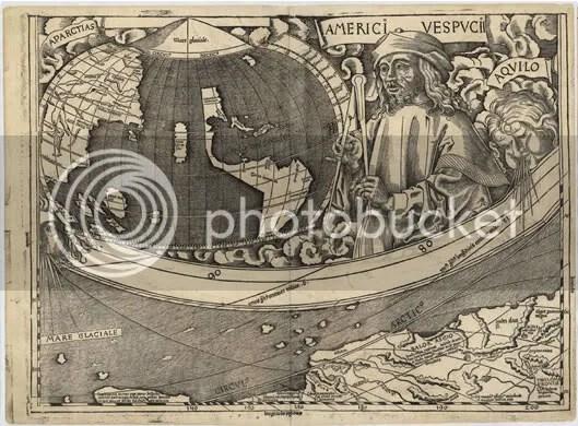 Waldseemüller World Map 1507 (part)