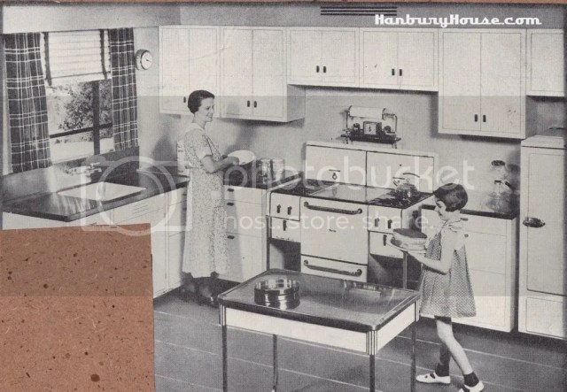 Retro Kitchen Images From The 1940s And 1950s Scrapbook