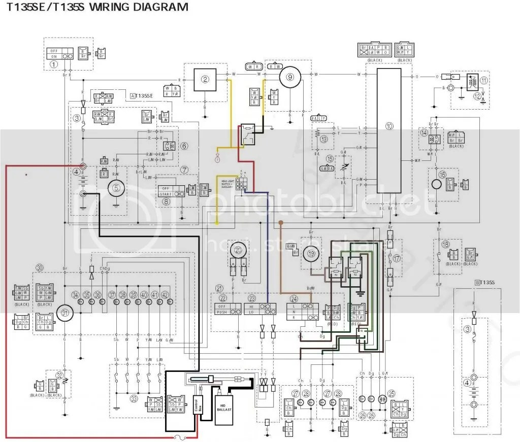 Yamaha Wiring Schematic