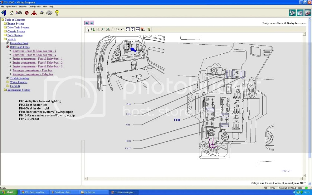medium resolution of astra envoy fuse box wiring diagram centreastra envoy fuse box