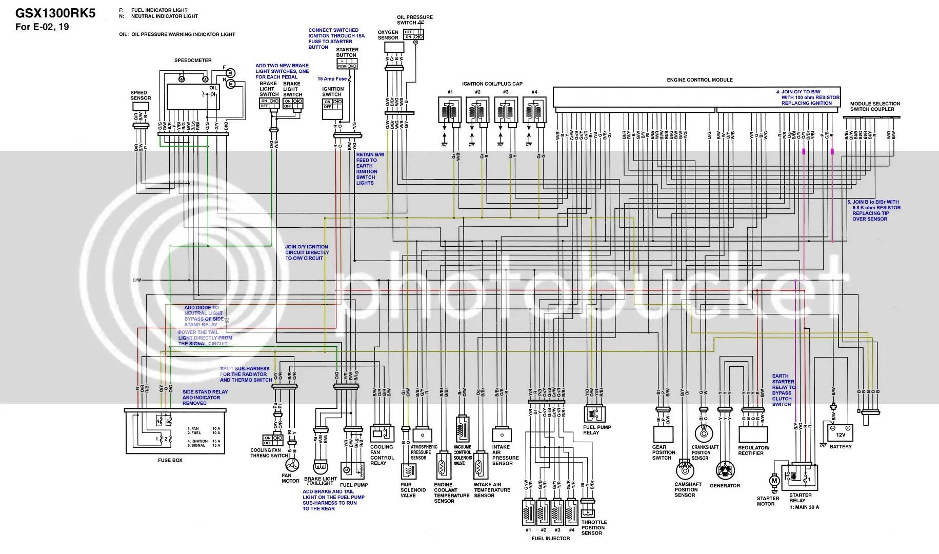 2004 hayabusa wiring diagram 1995 honda civic radio 2000 great installation of western star get free image about 2007 suzuki