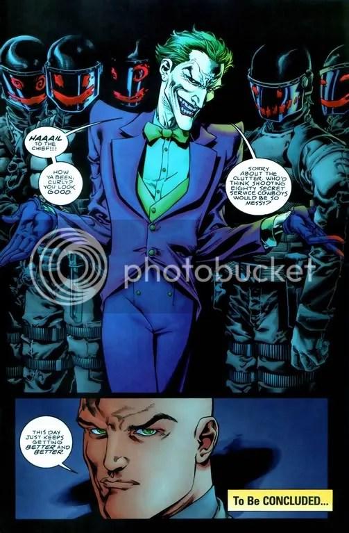 Image result for Joker tortures Lex luthor outsiders 3