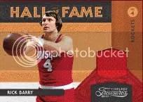 09/10 Panini Timeless Treasures Hall of Fame Jersey