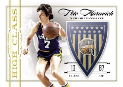 09/10 Panini Hall of Fame Pete Maravich High Class