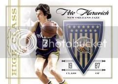 09/10 Panini Hall of Fame Pete Maravich High Class