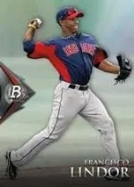 2014 Bowman Platinum Francisco Lindor
