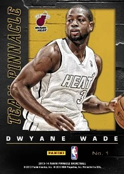 2013/14 Panini Team Pinnacle D-Wade