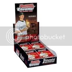 2007 Bowman Chrome Baseball Box