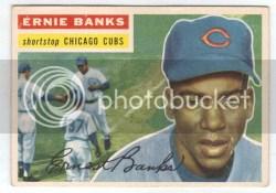 1956 Topps Ernie Banks #15