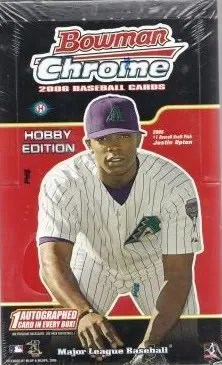 2006 Bowman Chrome Baseball Hobby Box