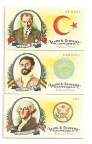 Topps Allen & Ginter National Heroes