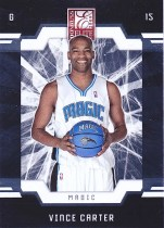 Panini Elite 09/10 Basketball Vince Carter Base Card