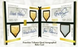 2009 Topps Tribute Franchise Quad Autograph