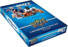 2010 Upper Deck UD Draft Football Box