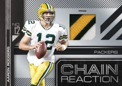 2010 Donruss Elite Chain Reaction Aaron Rodgers Jersey