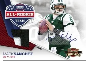 2010 Panini Threads 09 All Rookie Team Auto Jersey