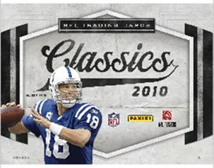 2010 Paninin Classics Football Box