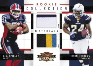 2010 Panini Threads Combo Rookie Collection