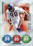 2010 Topps Attax Red Zone Julius Peppers Card