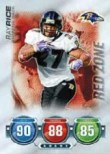 2010 Topps Attax Ray Rice Red Zone Card