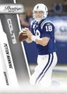 2010 Panini Prestige Football Peyton Manning
