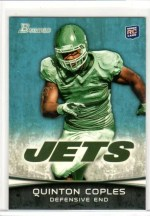 2012 Bowman Quinton Coples Base Rookie RC