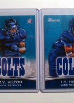 2012 Bowman TY Hilton Base Variation Sp RC Card