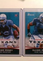 2012 Bowman Football DeVier Posey Sp Rookie Variation
