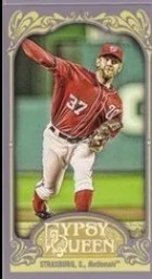 2012 Topps Gypsy Queen Stephen Strasburg Mini Variation