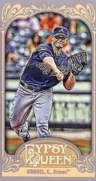 2012 Topps Gypsy Queen Craig Kimbrel Mini