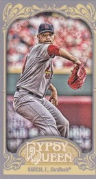 2012 Topps Gypsy Queen J. Garcia Mini Sp