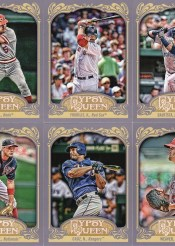 2012 Topps Gypsy Queen Johnny Bench Sp Variation
