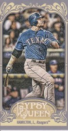 2012 Topps Gypsy Queen Josh Hamilton Base Mini