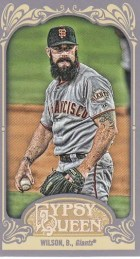 2012 Topps Gypsy Queen Brian Wilson Mini