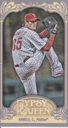 2012 Topps Gypsy Queen Cole Hamels Mini
