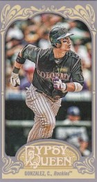 2012 Topps Gypsy Queen Carlos Gonzalez Mini Sp