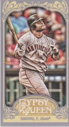 2012 Topps Gypsy Queen Pablo Sandoval Mini Sp