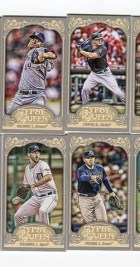 2012 Topps Gypsy Queen Alex Avila Mini