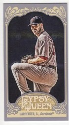 2012 Topps Gypsy Queen Chris Carpenter Sp Mini
